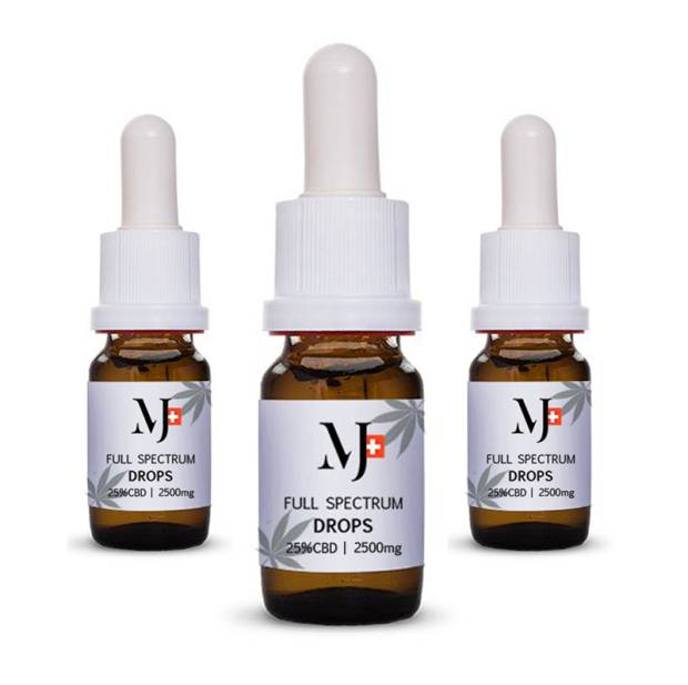 Marry Jane CBD Drops 25% 30ml