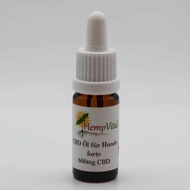 Hempvital 6%-os CBD aromaolaj kutyáknak 10ml