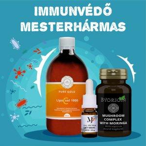 Immunerősítő Mesterhármas MCT