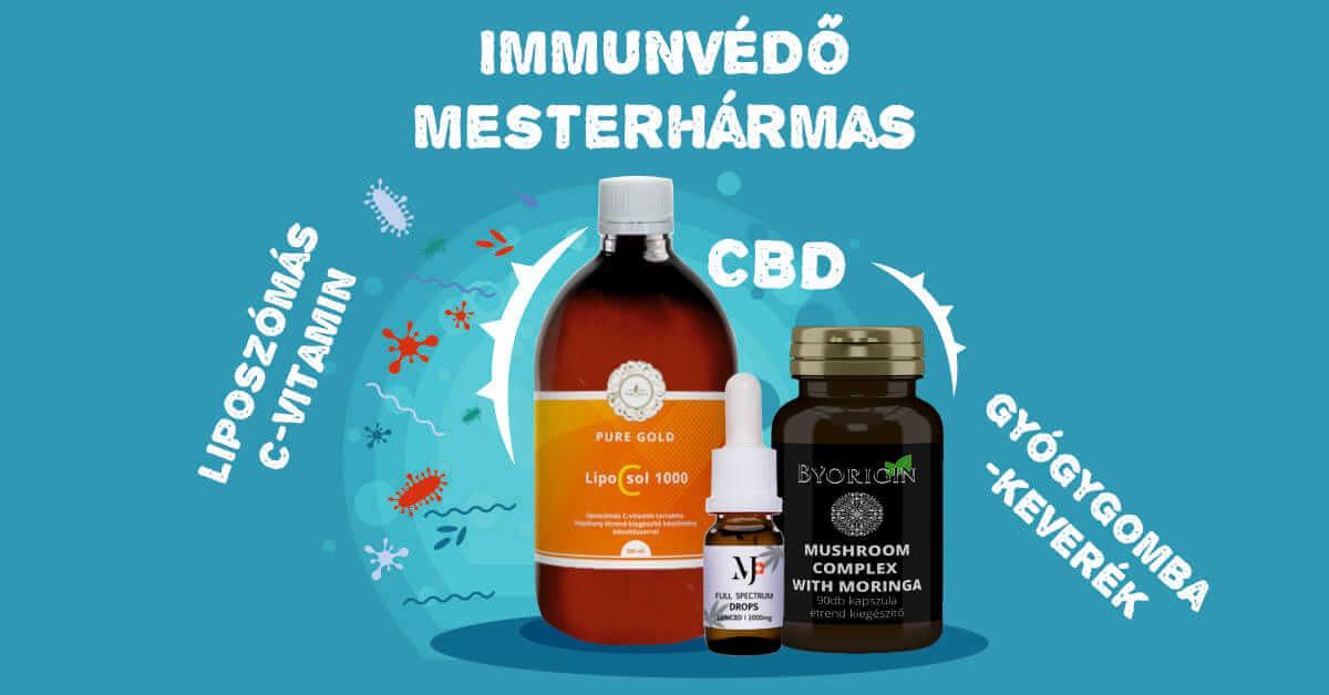 Immunerősítés CBD olajjal a koronavírus alatt